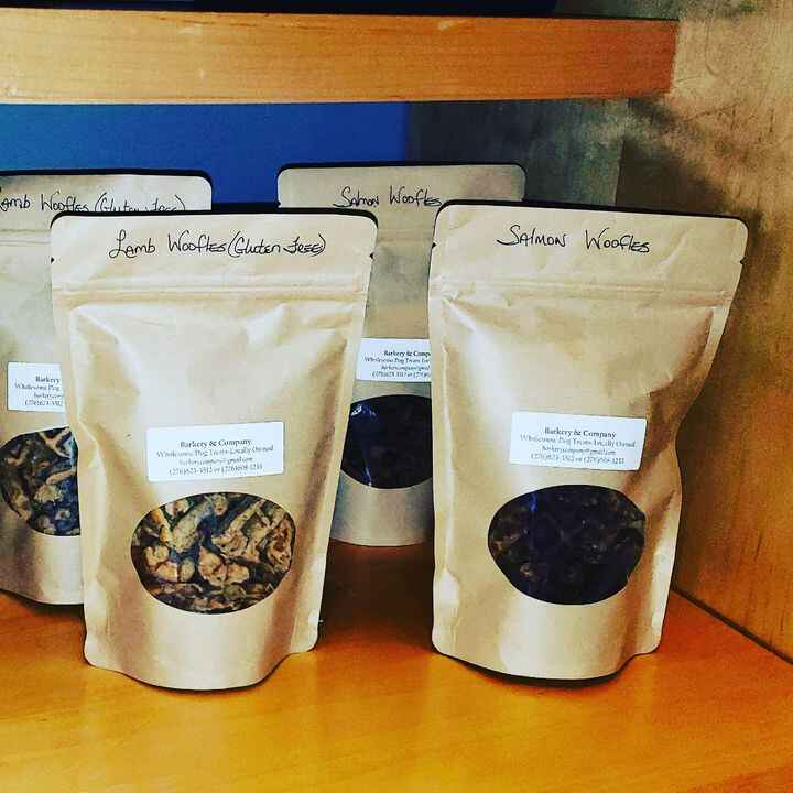 Barkery & Co treats now available at the new Southwest Virgina Cultural Center Marketplace!
