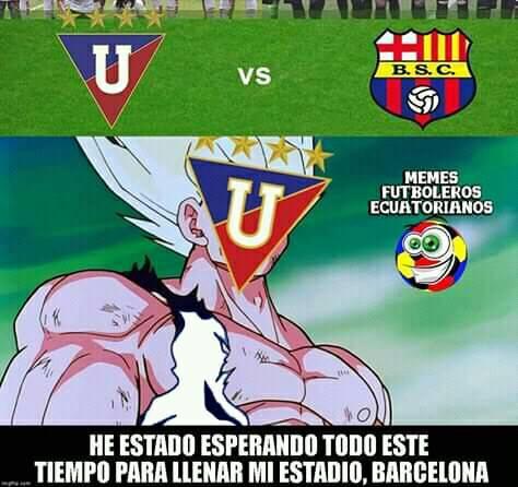 Feliz fin de semana  les desea PAN KANELA y para cerrar el dia no olvides el partido de la fecha LDU VS BARCELONA