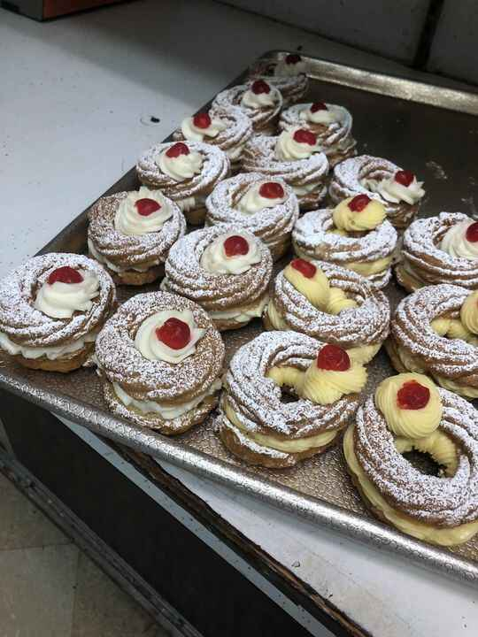 We are open ! St. Joesph's pastries!