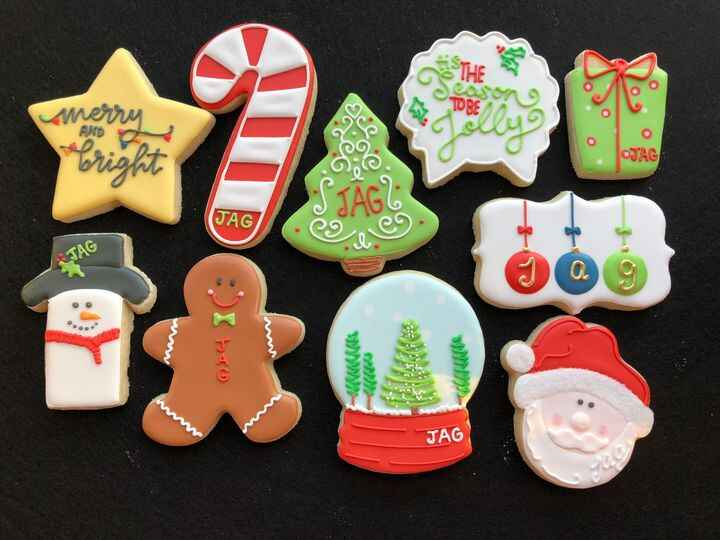Happy #nationalcookieday! I made a huge set of these cookies for an Army JAG party over the weekend. I tried to incorpor...