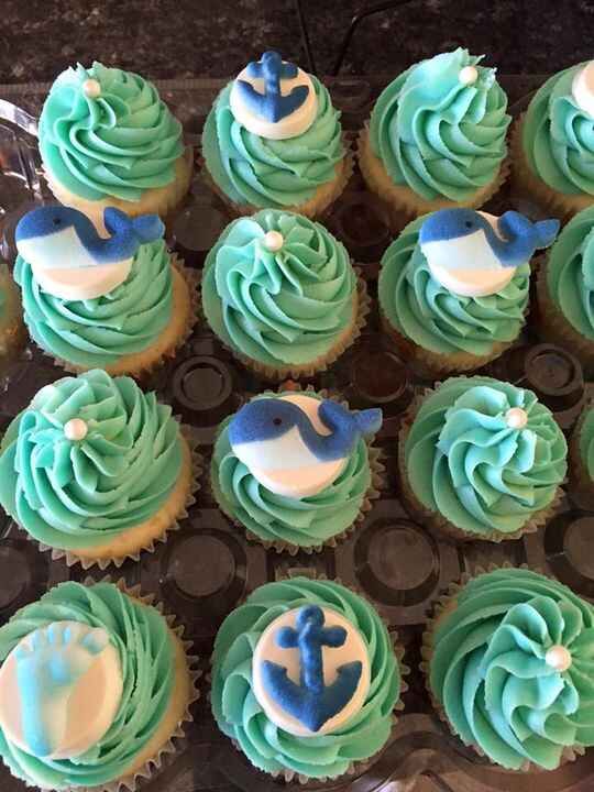 Boy Baby Shower 💙 Baby whale theme