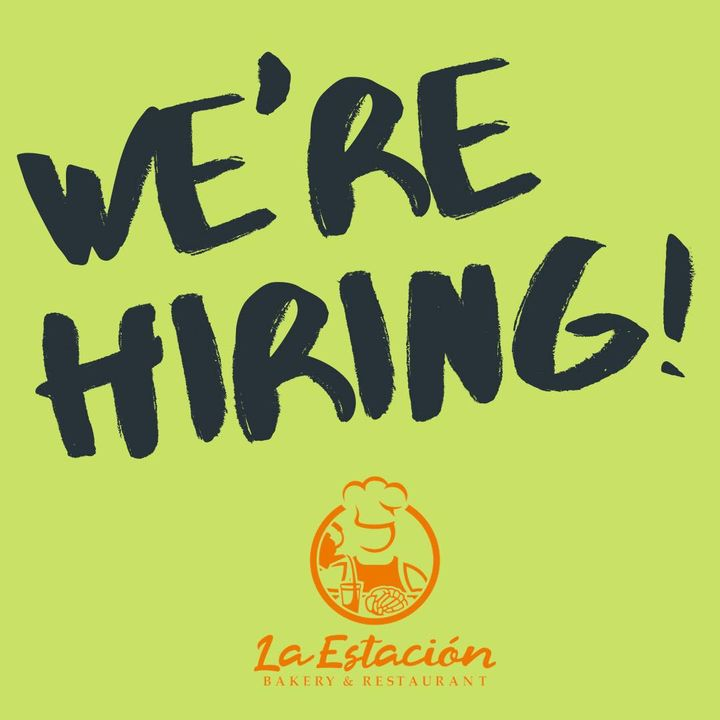 We are hiring! We are looking for waiters for both locations! For more information stop by and pick up an application. F...