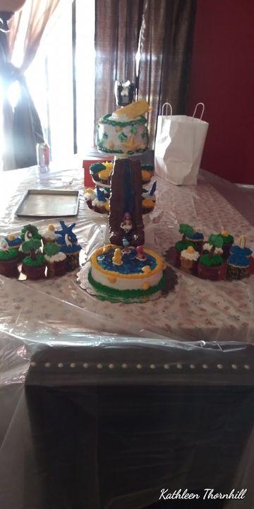 Pool party cake gor aniya's 13th birthday!#