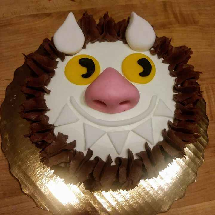 """""""Let the wild rumpus start!""""The perfect smash cake for a sweet little boy turning ONE!"""