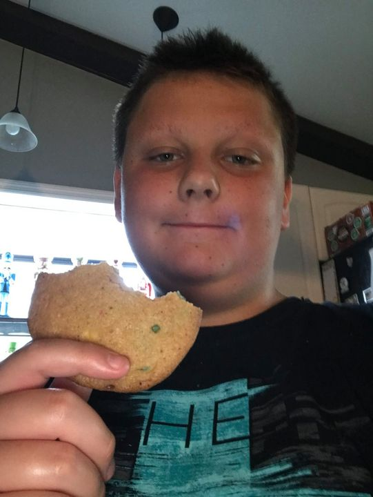 Cookies  Devoured Without Hesitation!  Great Job Cole!!!