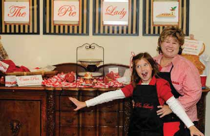The Pie Lady @BentWater Holiday Shopping Event