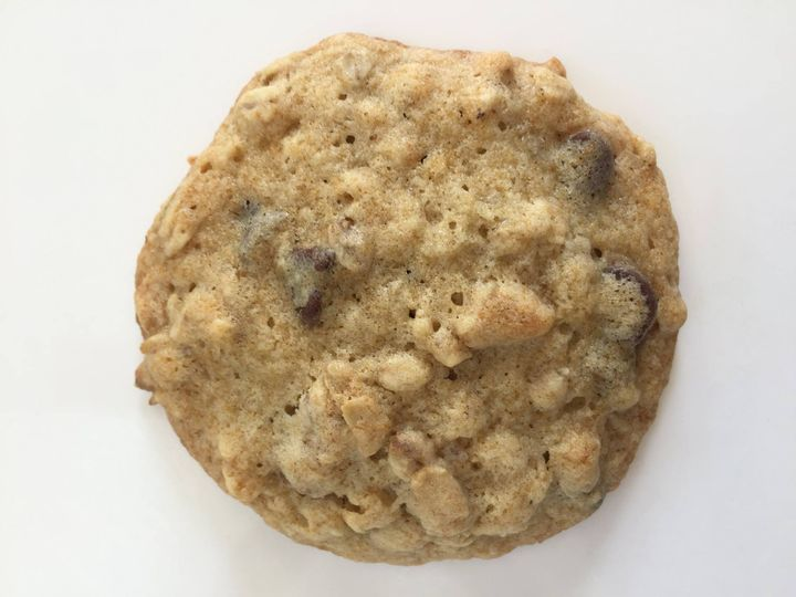 These cookies are my favorite!  Think chocolate chip mixed with banana bread ~ so yummy!